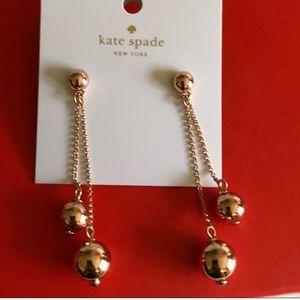Kate Spade♠️Ball Drop Earrings